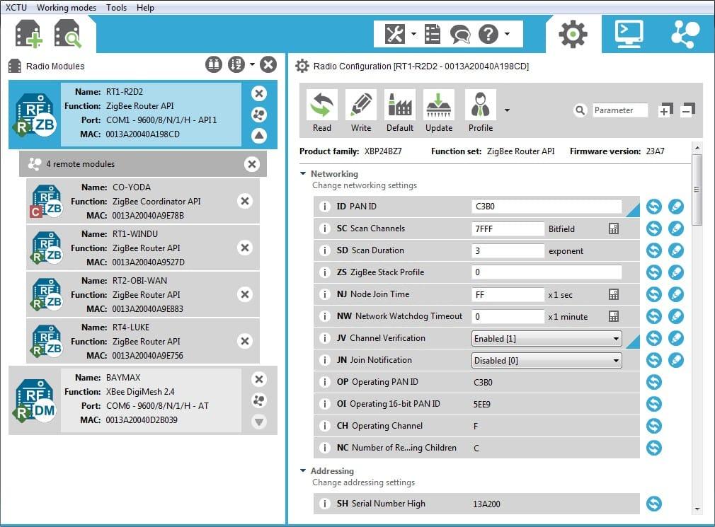 Xctu Next Gen Configuration Platform For Xbee Rf