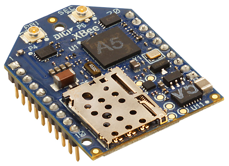 Digi XBee Cellular LTE Cat 1 - The Smallest End-Device