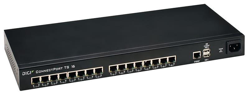 Terminal servers with dual ipv stack digi