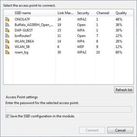 Configure a Wi-Fi access point