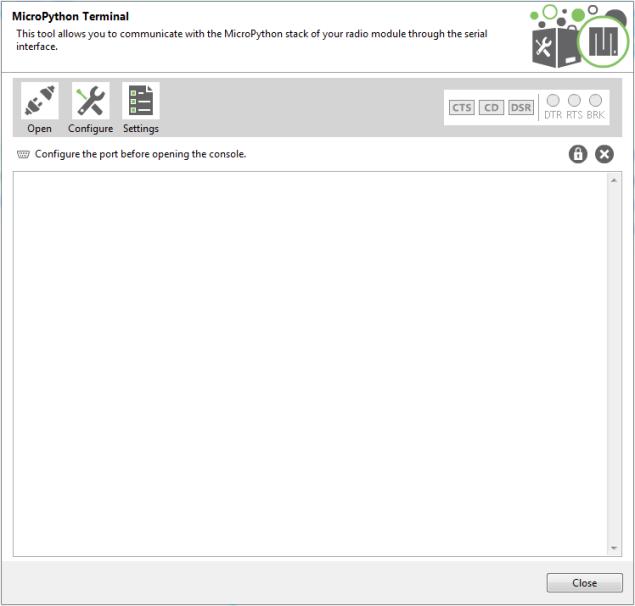 MicroPython Terminal tool