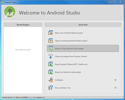 Step 4 2: Create the Android application