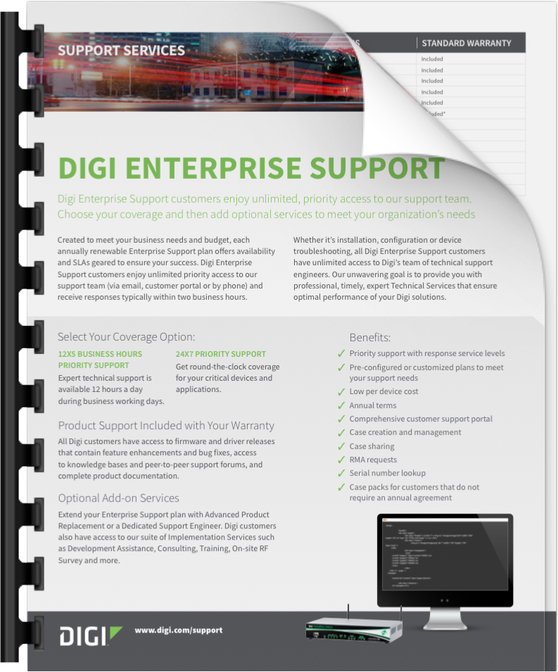 Digi Enterprise Support Slick